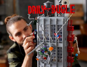 LEGO Unveils Skyscraping Daily Bugle Spider-Man Set