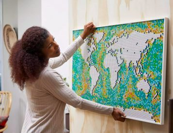 Largest LEGO Set Ever: The World Map