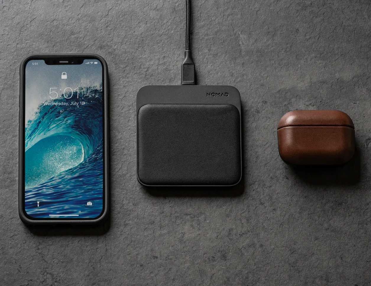 A Proper Wireless Charge: Nomad Base Station Mini at werd.com