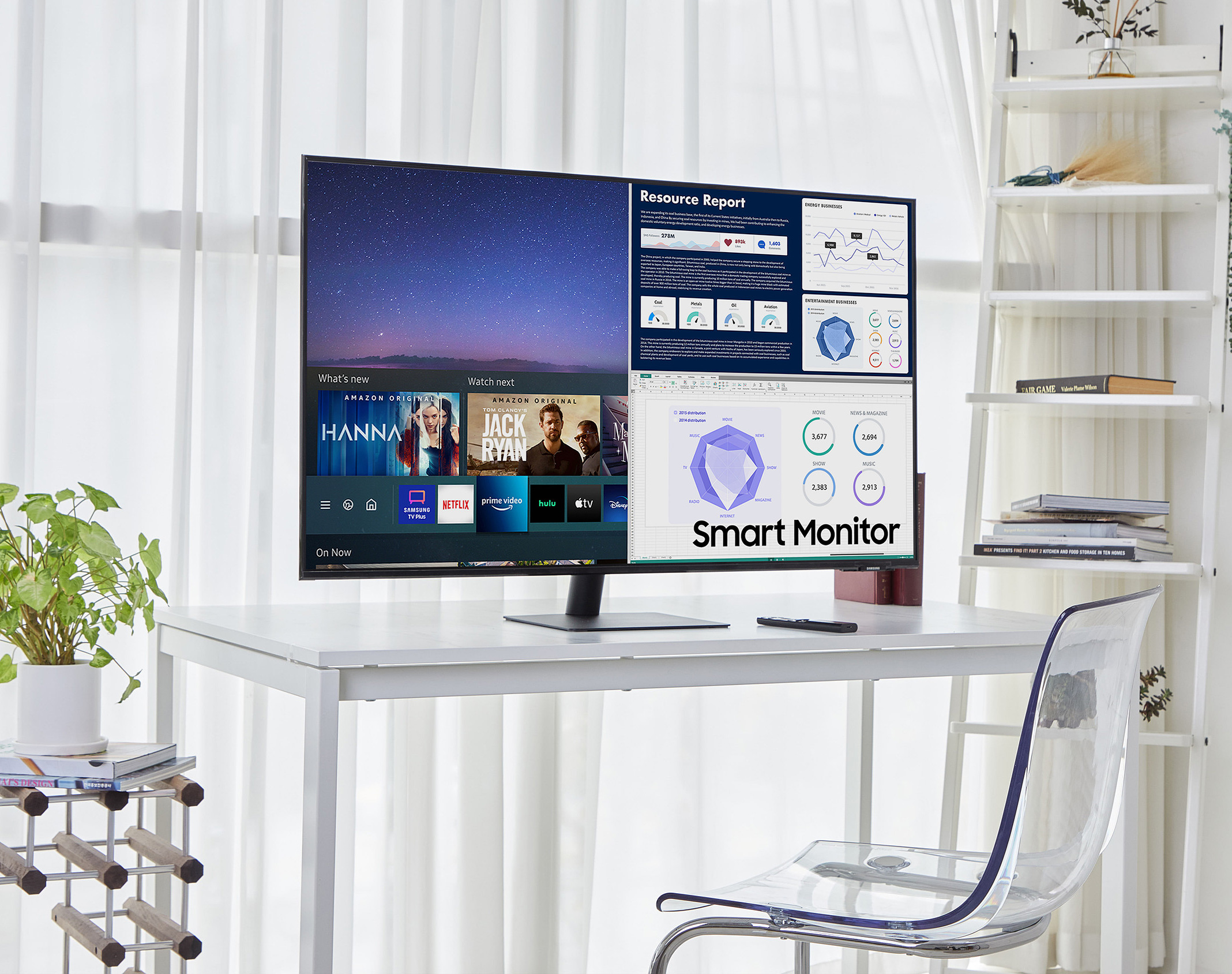 Samsung Goes Big with 43-Inch M7 Smart Monitor at werd.com