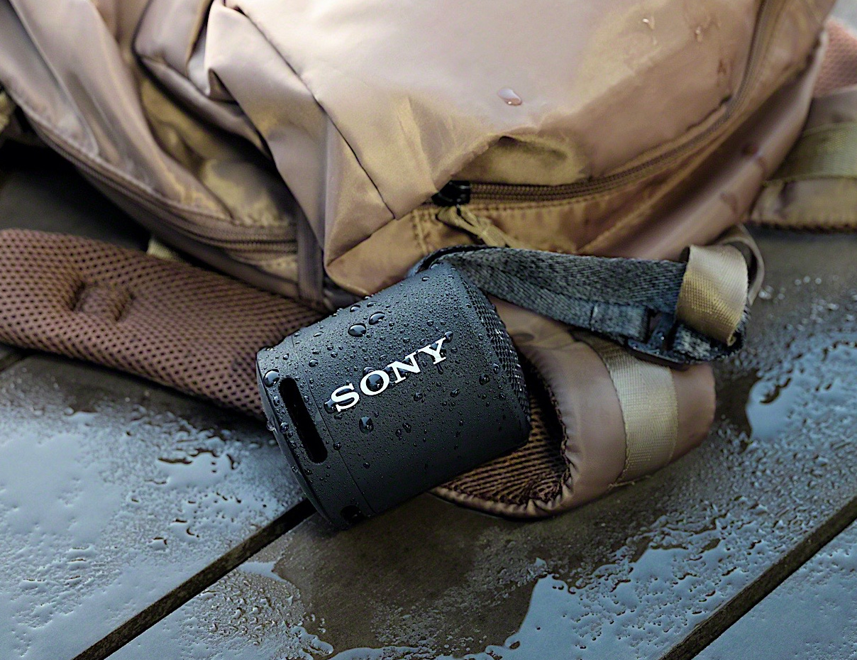 Strap This Sony Speaker To Your Beach Bag at werd.com