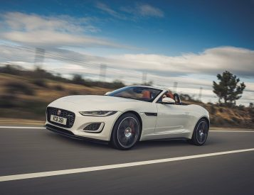 2022 Jaguar F-Types will be V8 Only