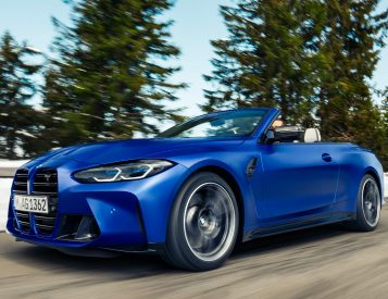 BMW Introduces 2022 M4 Competition Convertible xDrive