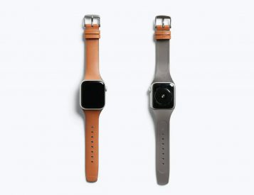 Bellroy Dresses Apple Watch Up in Leather