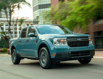 Ford Unveils 2022 Maverick Hybrid Pickup
