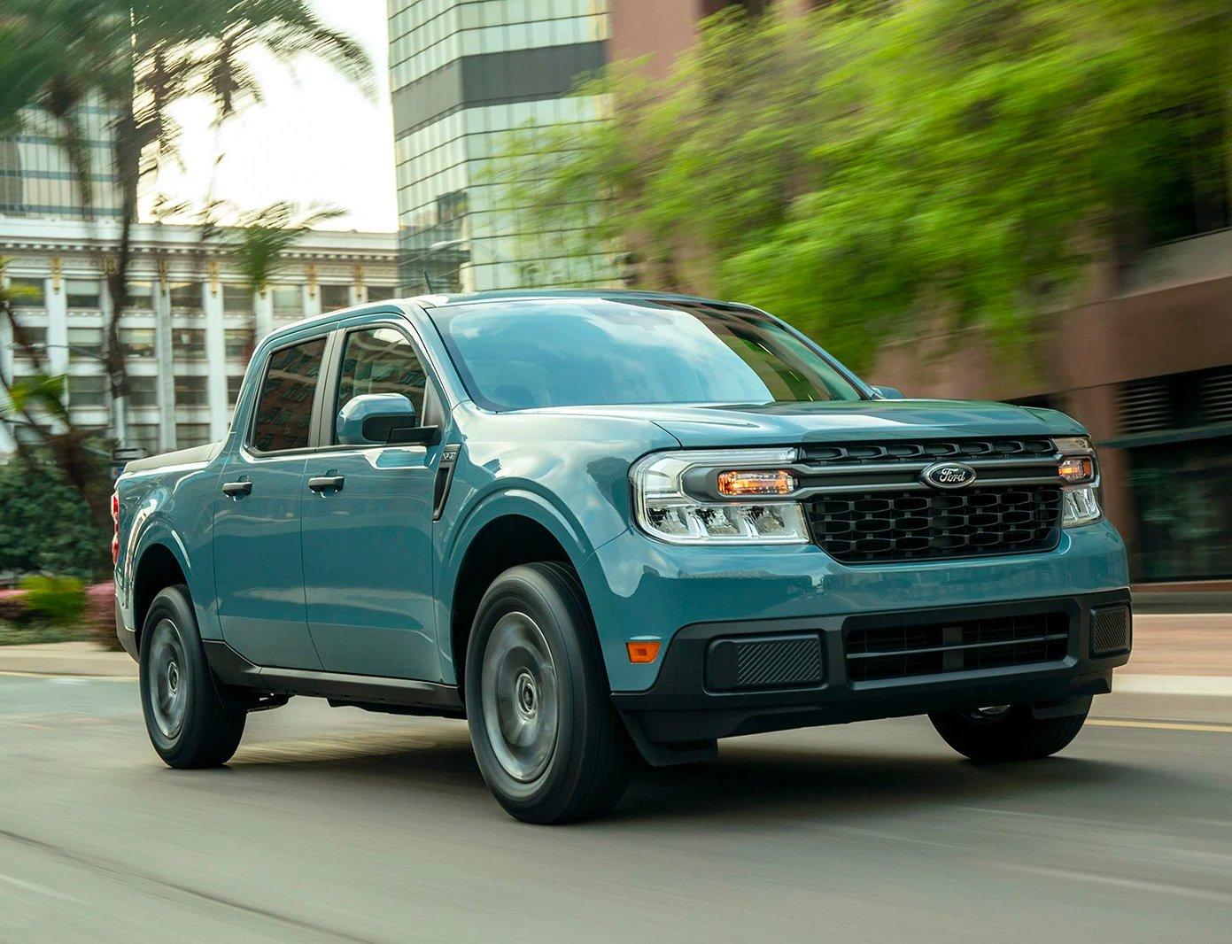Ford Unveils 2022 Maverick Hybrid Pickup at werd.com