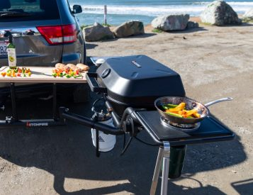 Cookout Anywhere with HitchFire's Ultimate Grilling Station