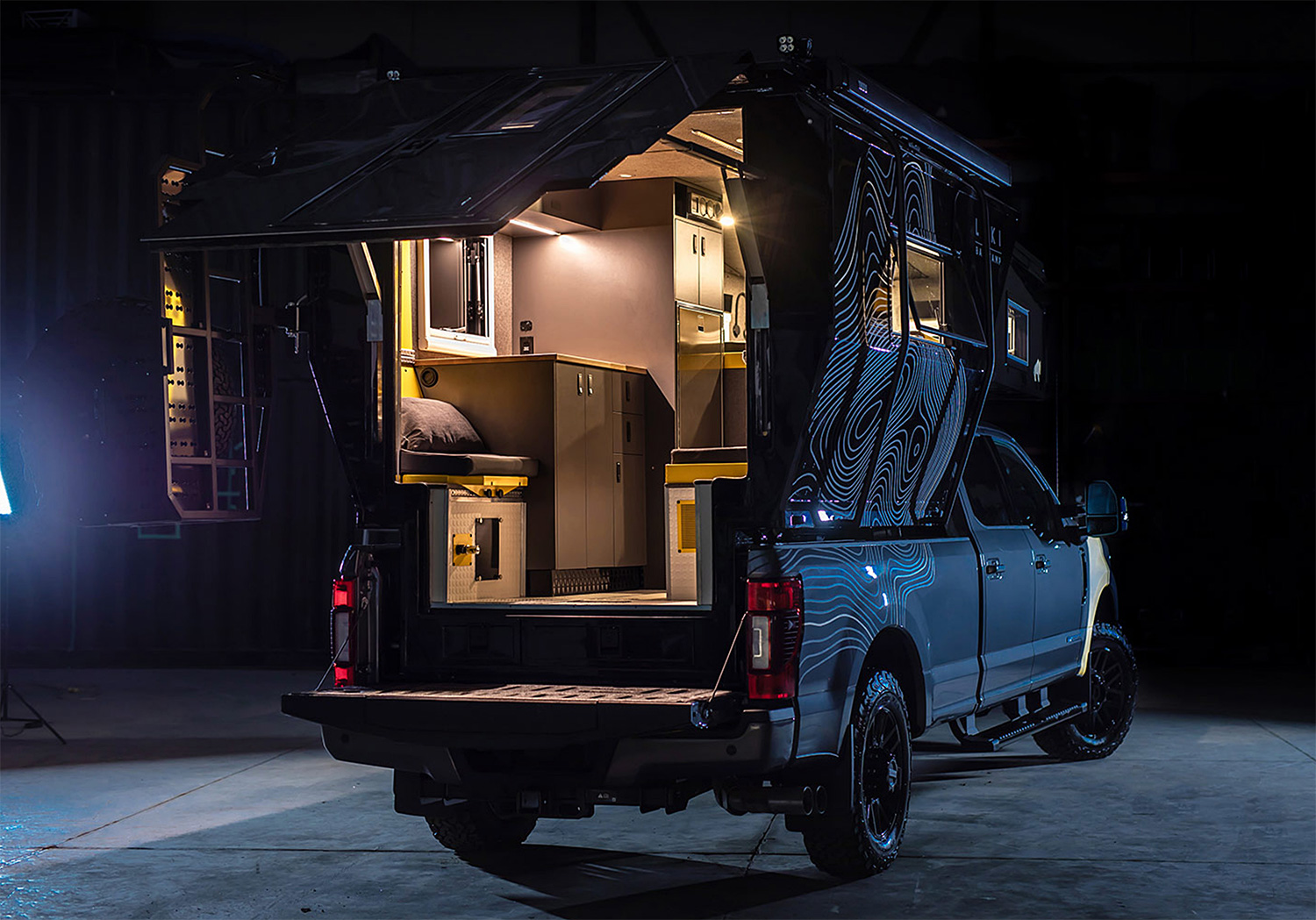 Go Off-Road Extreme with Loki's Falcon Series Campers at werd.com