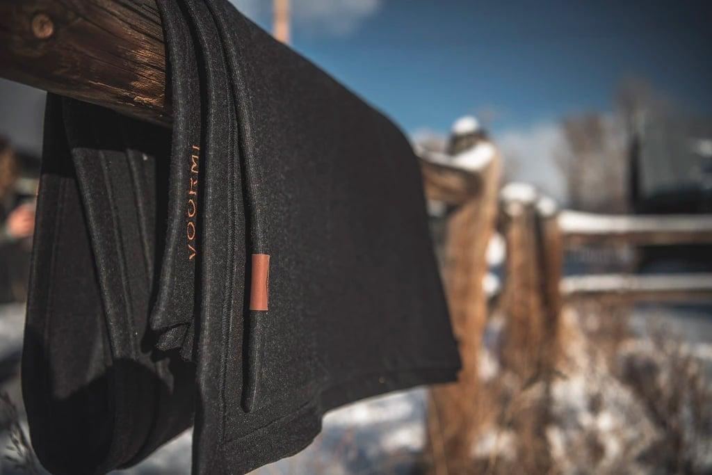Voormi's Overlook Blanket is an All-Weather Traveler at werd.com