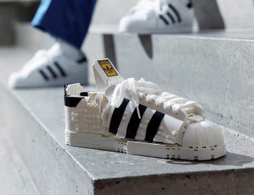 LEGO Laces a Classic Kick with adidas Originals Superstar Set
