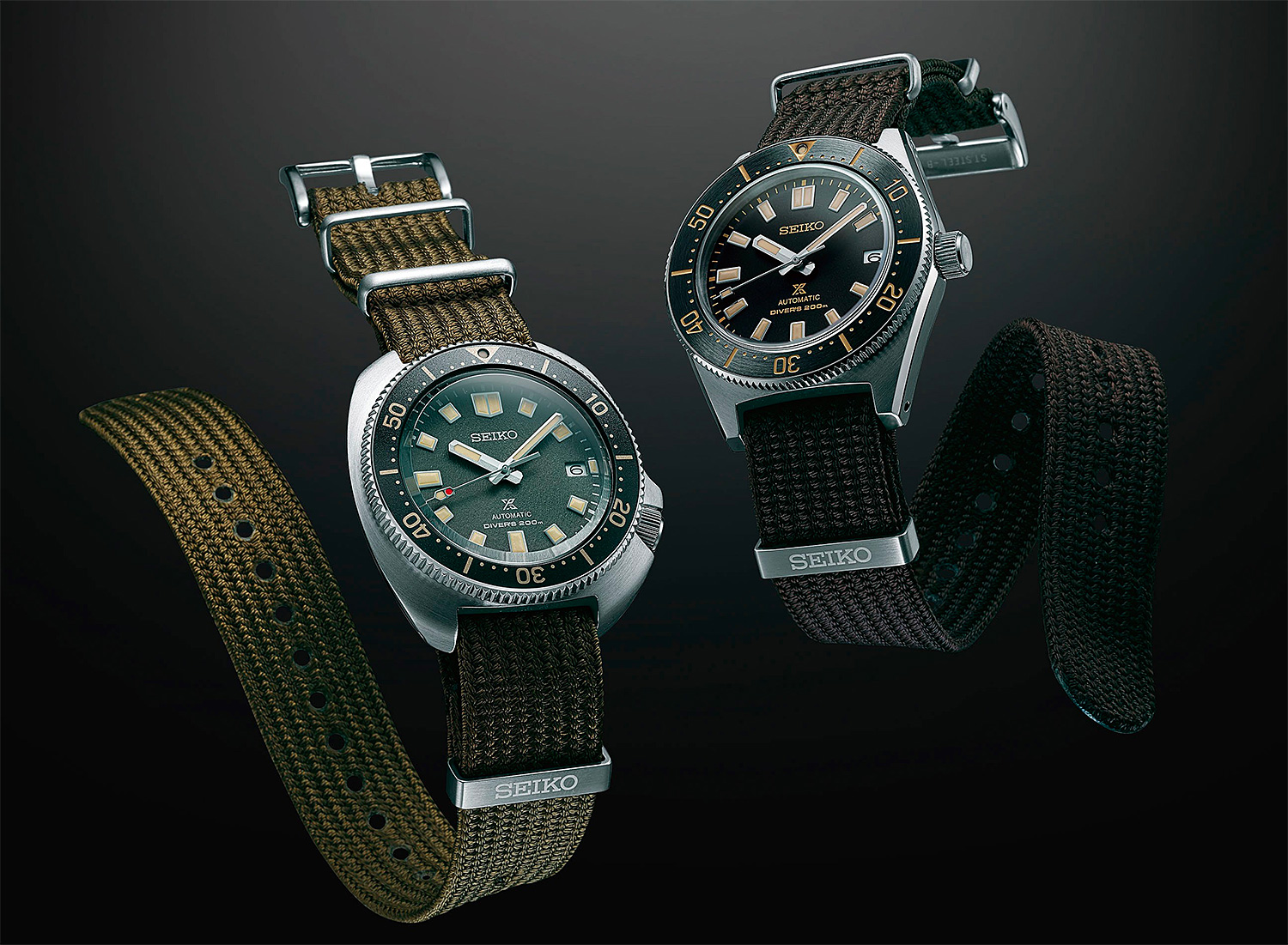 Seiko Revives Two Classic Automatic Divers at werd.com