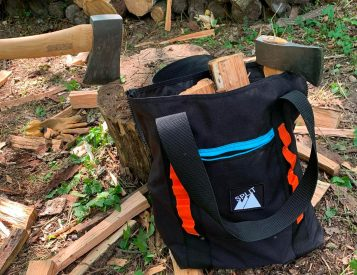 Carry Firewood or Whatever in this Rugged Tote Bag