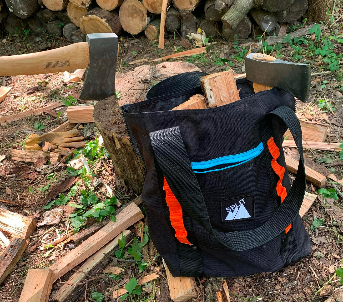 Carry Firewood or Whatever in this Rugged Tote Bag at werd.com