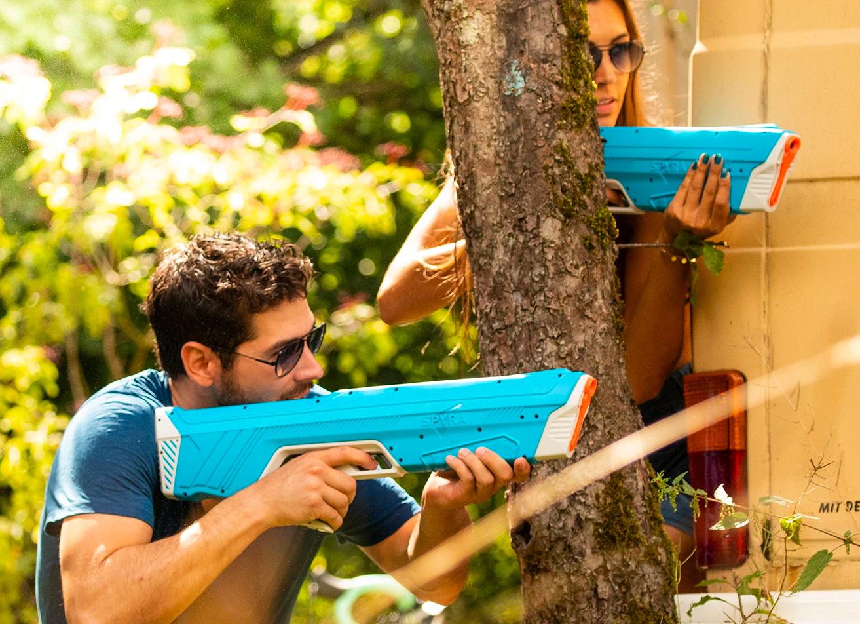 Have a Blast this Summer: SpyraTwo Digital Water Gun at werd.com