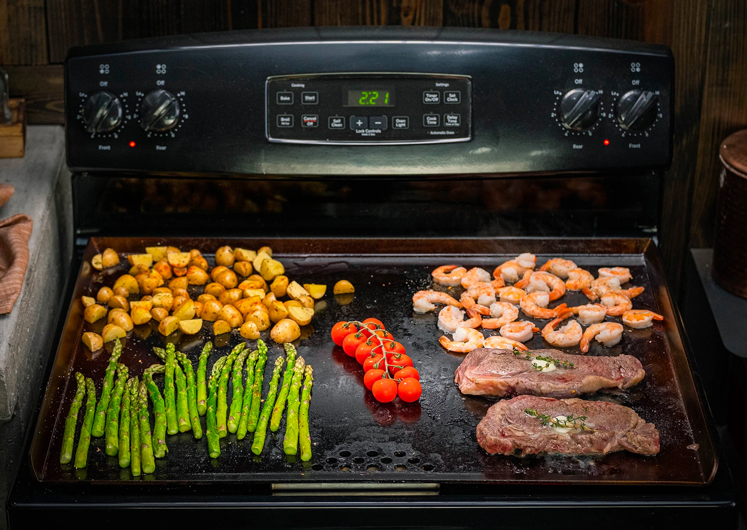 Instead Of Pots & Pans, Cook It All on the Flat Top at werd.com