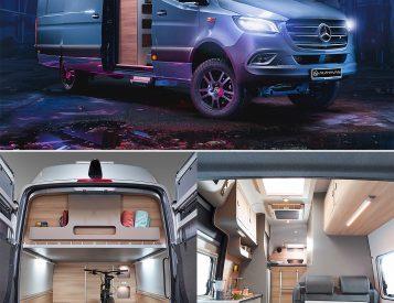 Alphavan Introduces 4X4 Super-Size Sprinter Conversion