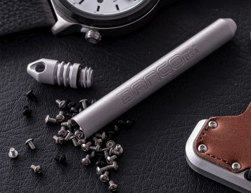 Keep Small Stuff Safe in This Watertight EDC Capsule