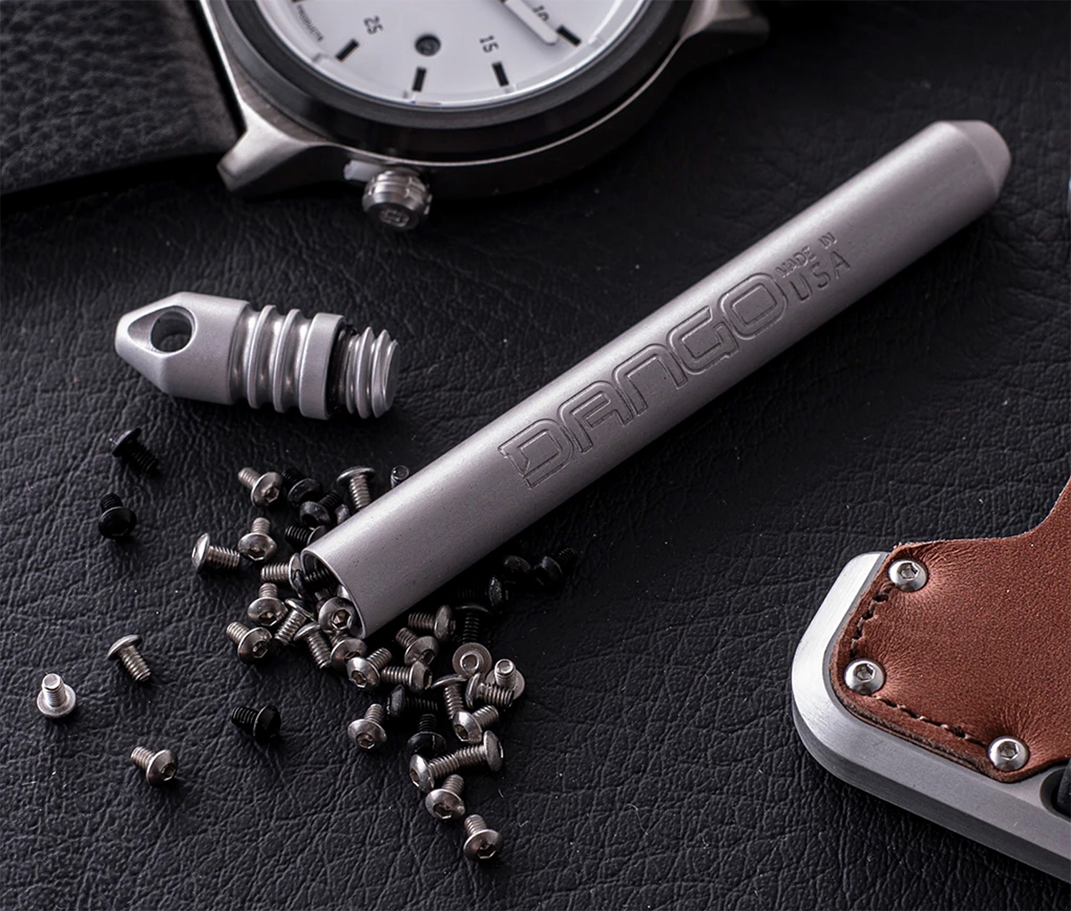 Keep Small Stuff Safe in This Watertight EDC Capsule at werd.com