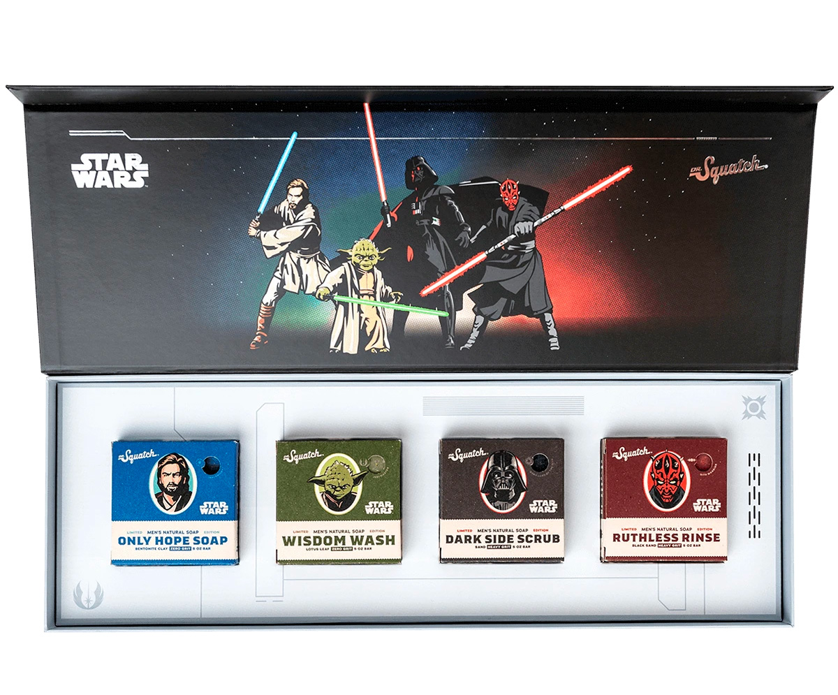 Keep Your Universe Clean with <i>Star Wars</i> Soap at werd.com