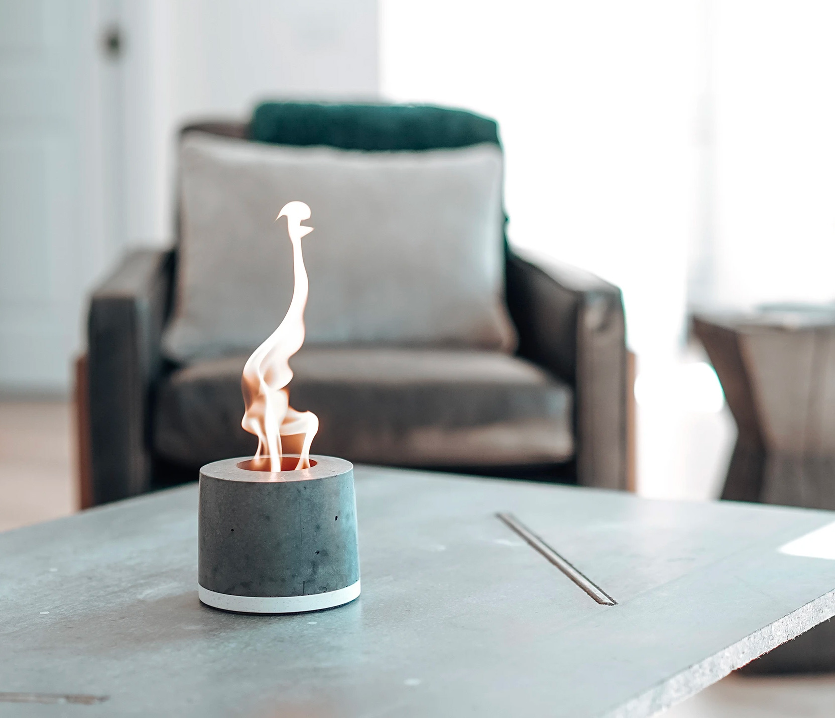 Make S'Mores Indoors with FLÎKR Fire2 at werd.com