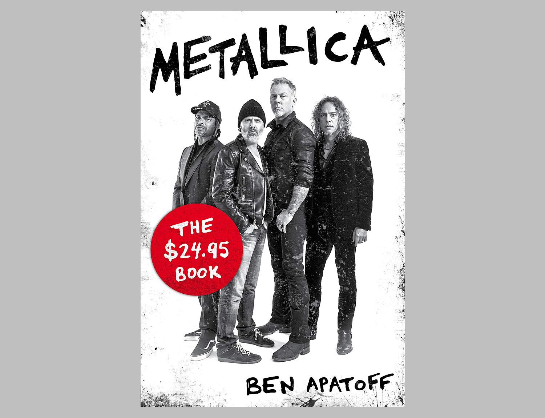 Metallica: The $24.95 Book at werd.com