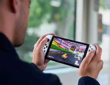Nintendo Steps Up Portable Play with Switch OLED Model