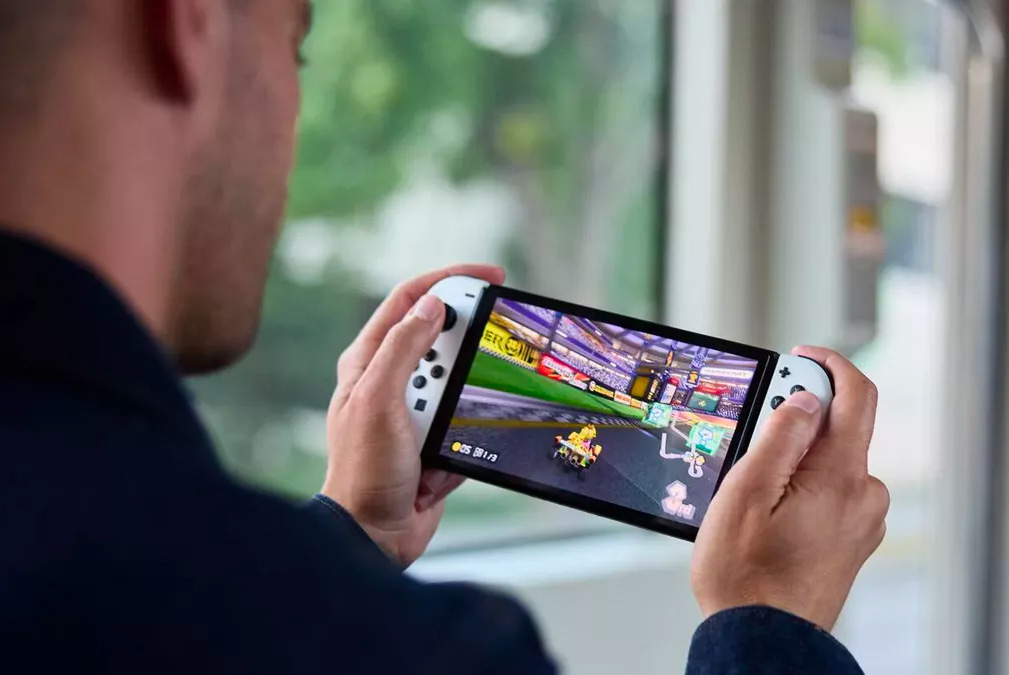 Nintendo Steps Up Portable Play with Switch OLED Model at werd.com