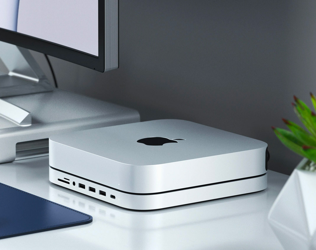 Upgrade your Mac mini with Satechi's Stand & Hub at werd.com