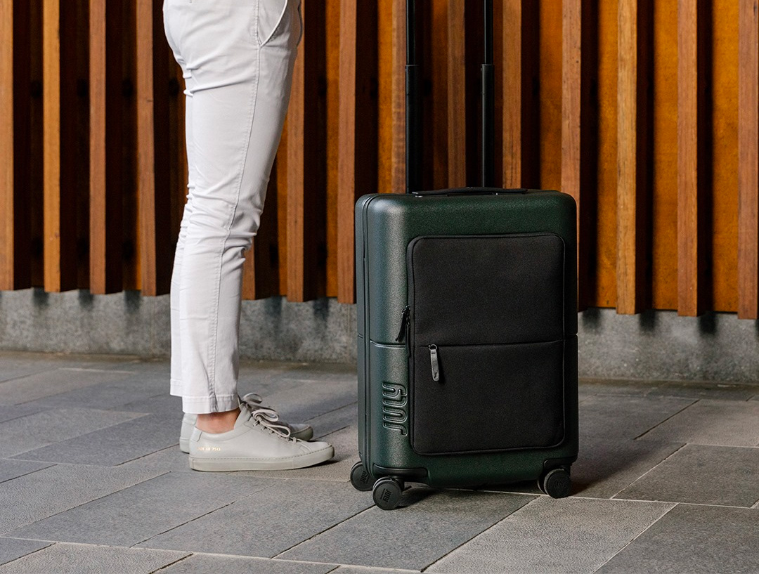 Streamline Your Departure with July Luggage at werd.com