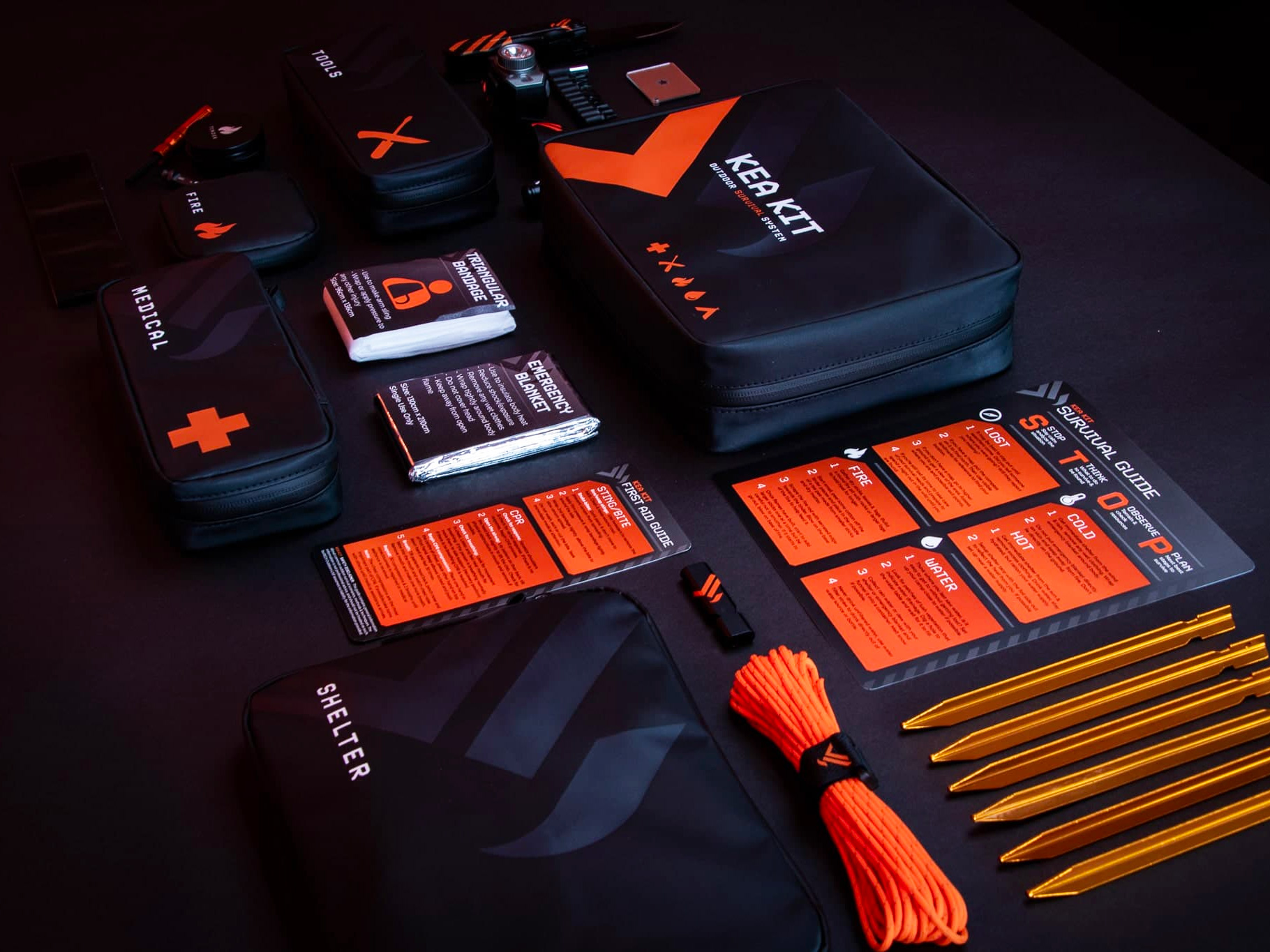 Equip Yourself for Emergencies with the Kea Kit at werd.com