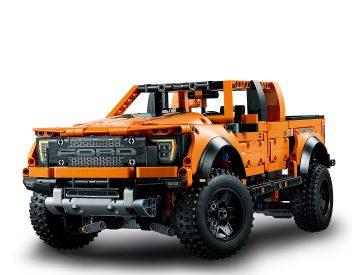 Lego Rolls Out 2021 Ford F-150 Raptor