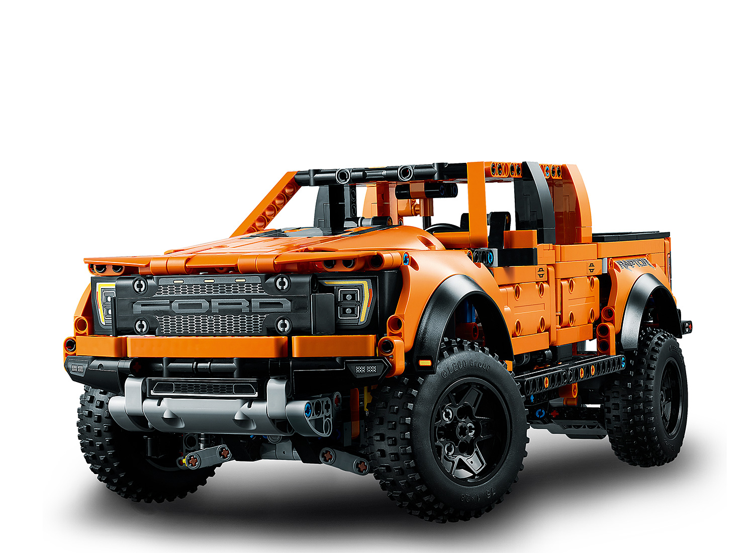 Lego Rolls Out 2021 Ford F-150 Raptor at werd.com