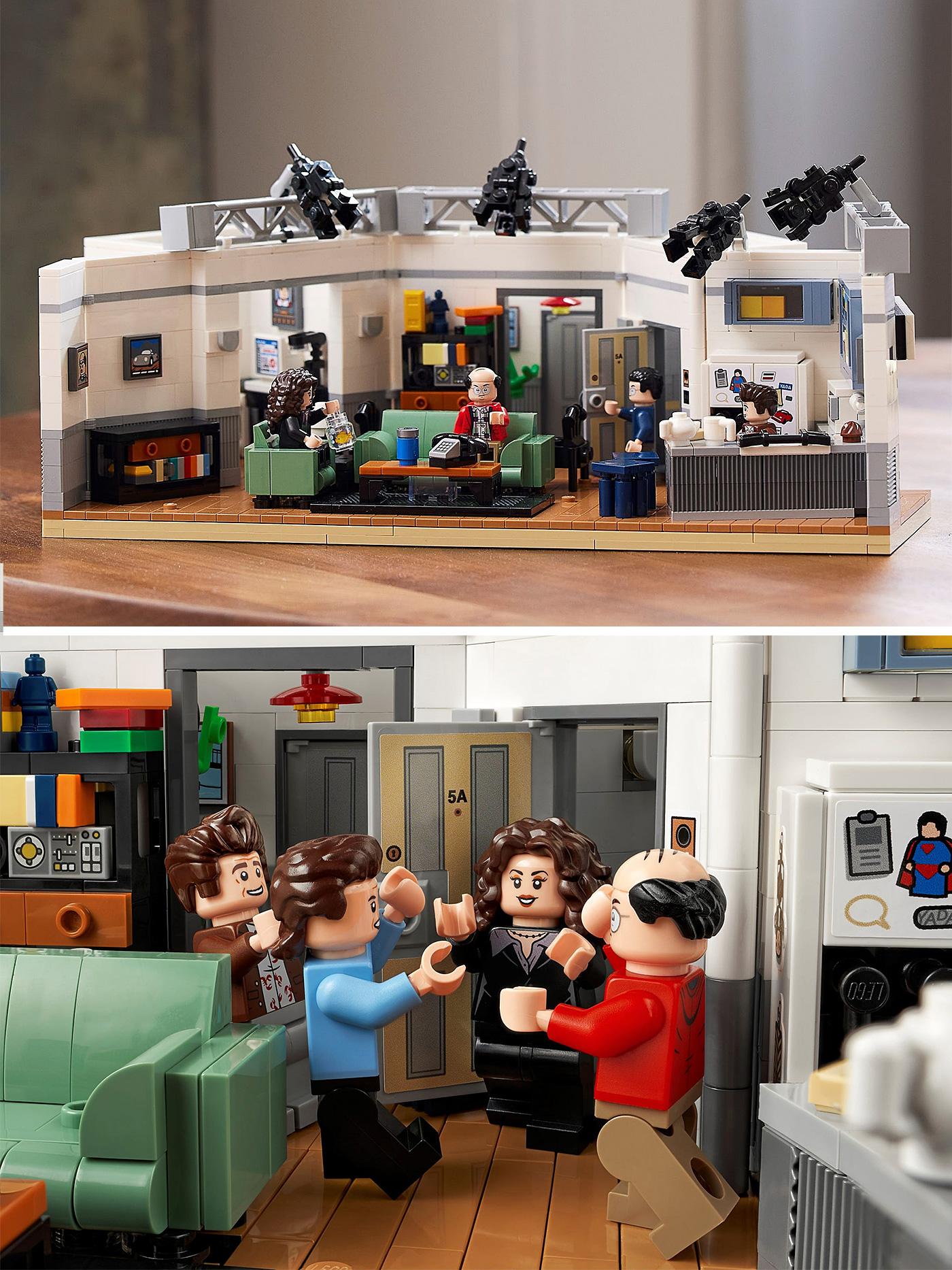 LEGO Seinfeld Set Recreates the Classic Sitcom at werd.com