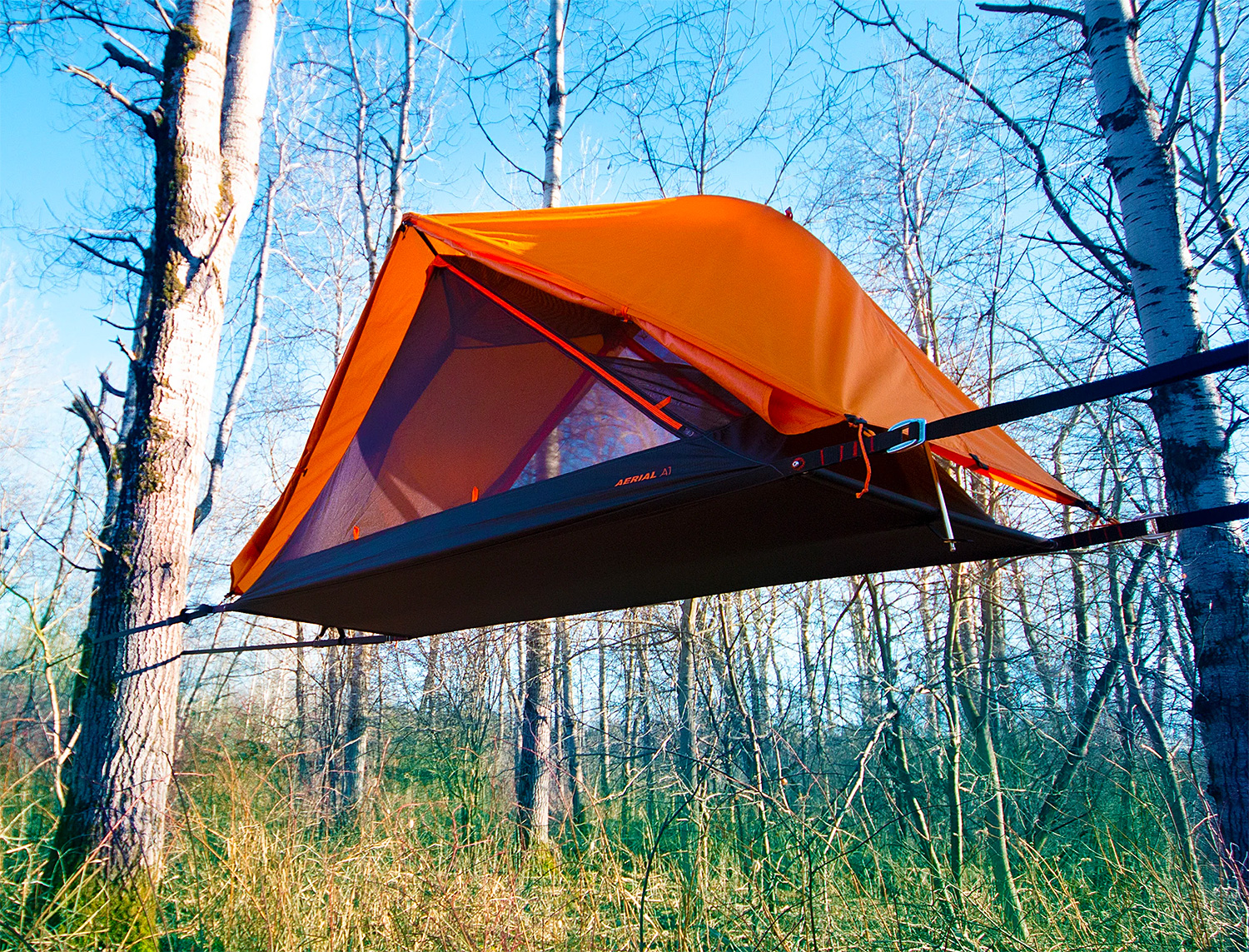 Get Off the Ground with the Aerial 1 Tree Tent at werd.com