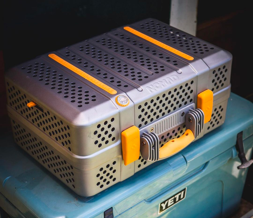 When it Comes to Meat, Nomad's Portable Smoker is All Business at werd.com