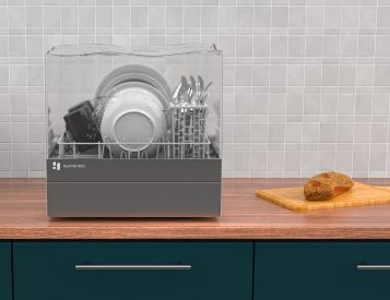 This Countertop Dishwasher Does It Without Plumbing