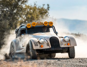 Morgan Steers Into the Rough with Plus Four CX-T