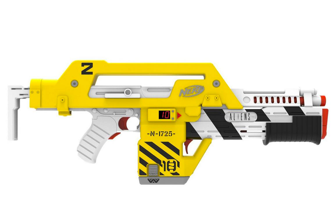 Nerf Honors <i>Aliens</i> with Limited M41-A Pulse Blaster at werd.com