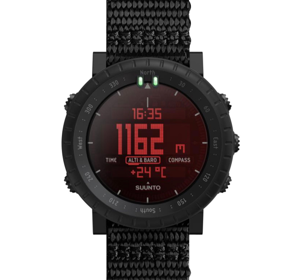 Suunto's Core Alpha Stealth is Built to Mil-Spec Standards at werd.com