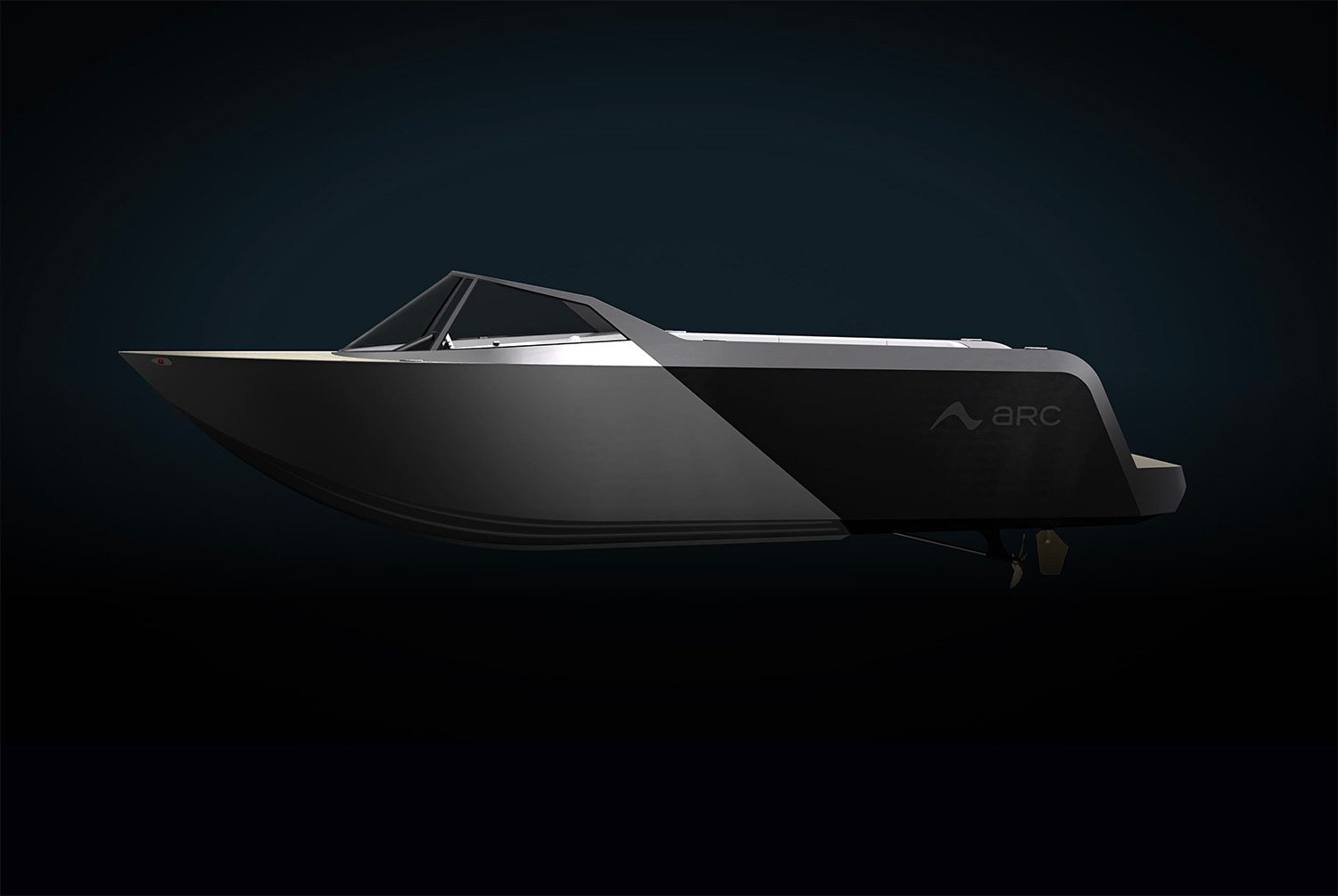 Cruise Carbon-Free in the Arc One Electric Speedboat at werd.com