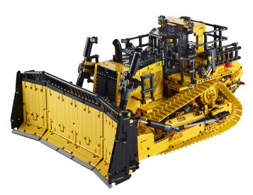 LEGO Technic Goes Big with App-Controlled Cat Bulldozer