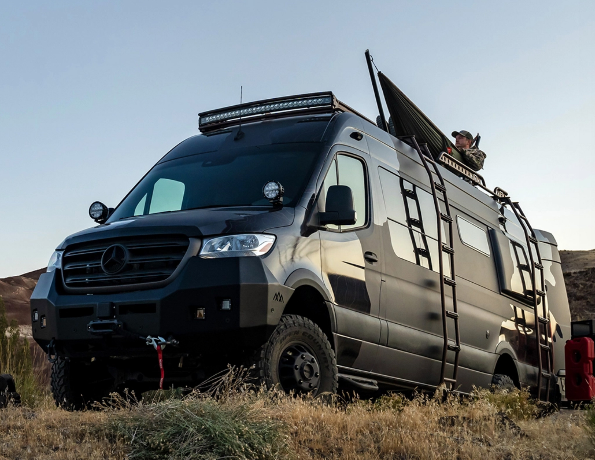 Launch into Hunting Season with a Savage Sprinter from Outside Van at werd.com