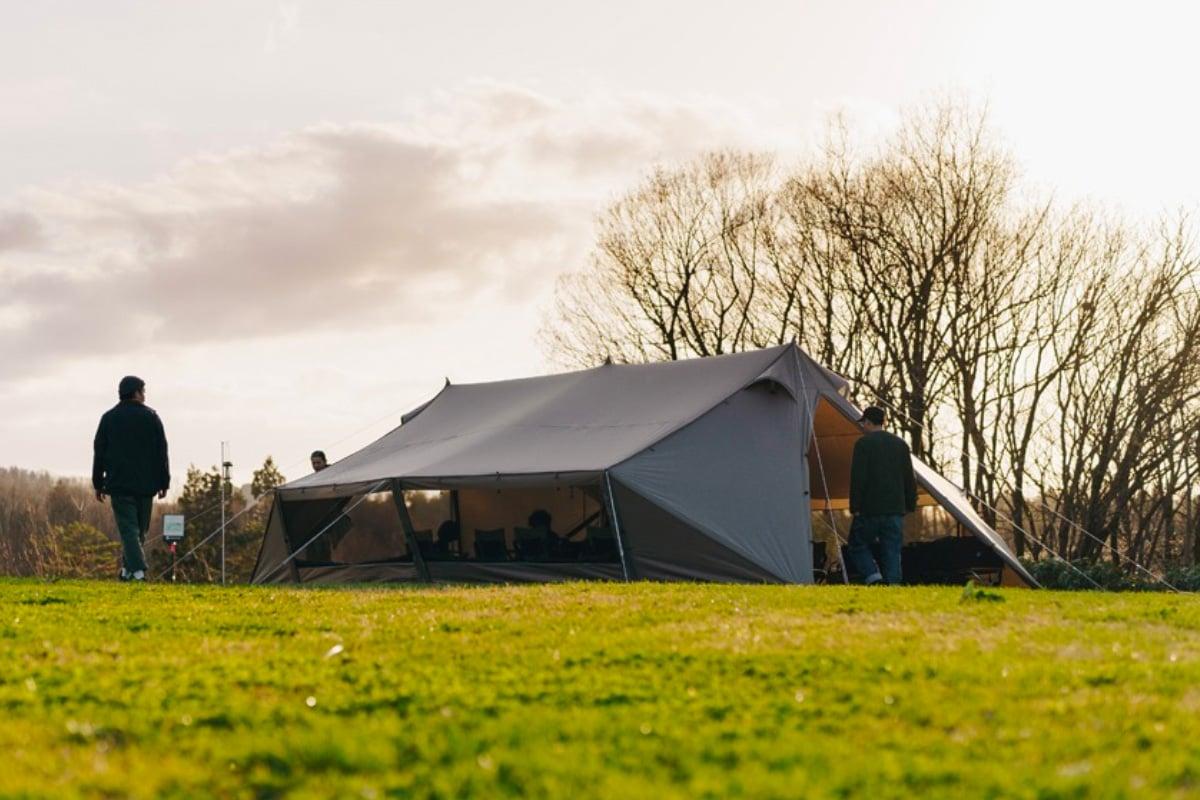 Snow Peak's Living Lodge Makes Base Camp Comfy at werd.com