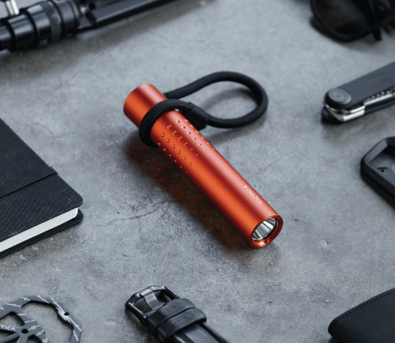The Pocketable F100 Shines with Bright Light & USB-C Power at werd.com