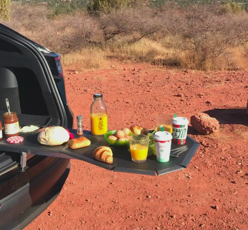 Turn Your Tailgate into a Gathering Place with Tail Table at werd.com