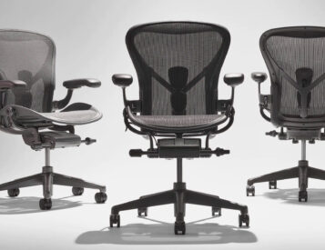 Herman Miller's Iconic Aeron Chair Now Made from Ocean Plastics