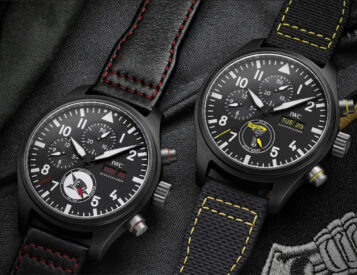 IWC's Pilot Watch Collection Honors U.S. Navy Air Squadrons