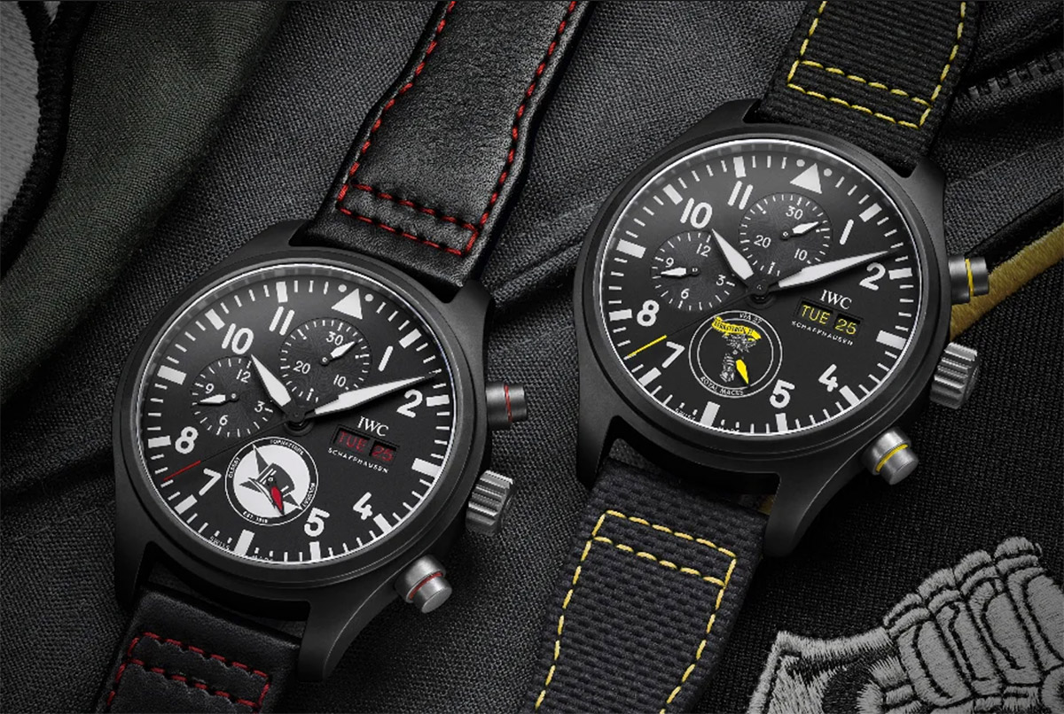 IWC's Pilot Watch Collection Honors U.S. Navy Air Squadrons at werd.com