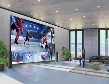 LG's DVLED Extreme Home Cinema Turns Whole Walls into TV Screens