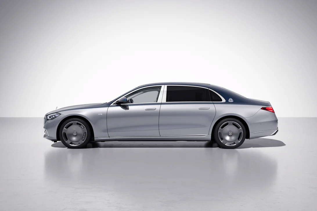 Mercedes-Maybach Introduces Limited S680 Edition 100 at werd.com